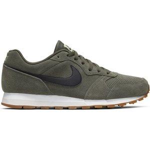 Nike Nike MD Runner 2 Suede Grün Schwarz