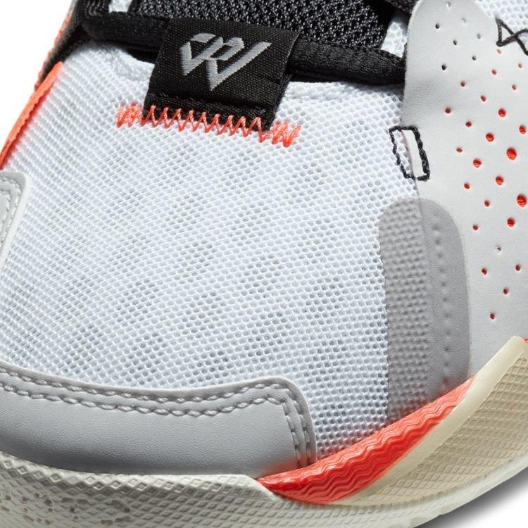 Jordan Basketball Jordan Why Not Zer0.3 Grey Orange