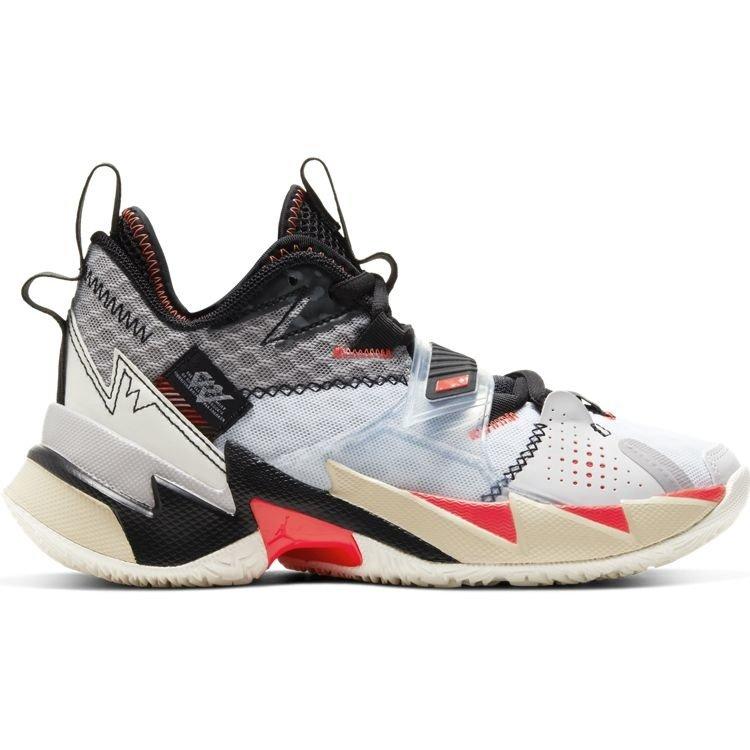 Jordan Basketball Jordan Why Not Zer0.3 Grey Orange (GS)