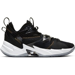 Jordan Basketball Jordan Why Not Zer0.3 Zwart Goud Wit (GS)
