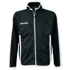 Spalding Spalding Evolution Jacket Black White