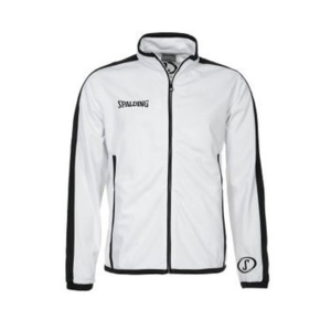 Spalding Spalding Evolution Jacket Wit Zwart