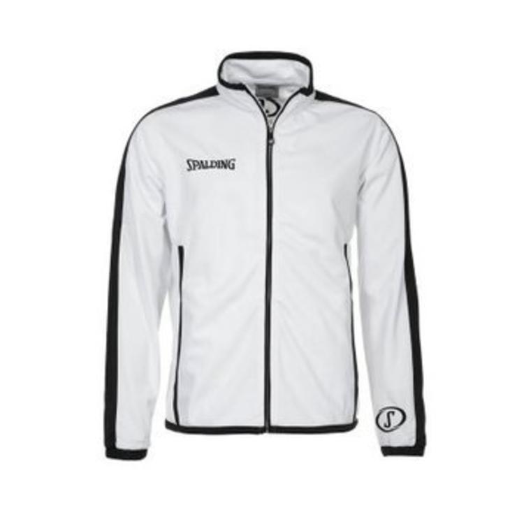 Spalding Spalding Evolution Jacket White Black