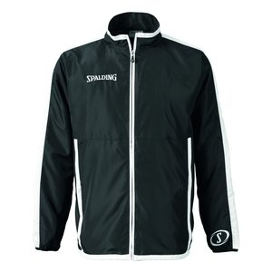 Spalding Spalding Evolution woven jacket Black White