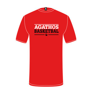 Burned Teamwear Copy of B.C. Agathos T-shirt Zwart Tekst