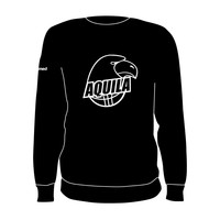 B.V. Aquila Crewneck Logo Zwart