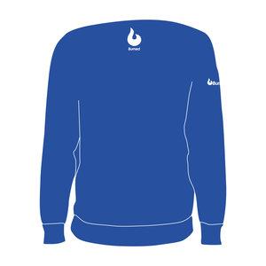 Burned Teamwear B.V. Aquila Crewneck Logo Blauw