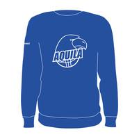 B.V. Aquila Crewneck Logo Blauw