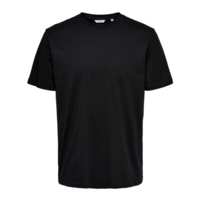 Only & Sons Basic Tee Schwarz