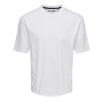 Only & Sons Basic Tee Weiß