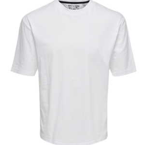 Only & Sons Only & Sons Basic Tee White