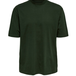 Only & Sons Only & Sons Basic Tee Dunkelgrün