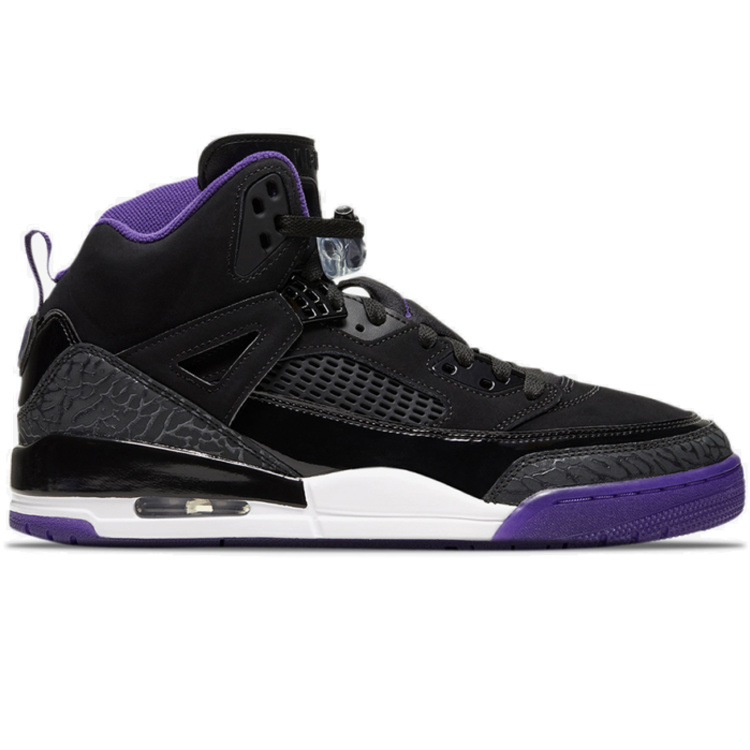 Nike Air Jordan Spizike Black Purple