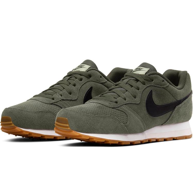 Nike Nike MD Runner 2 Groen Zwart