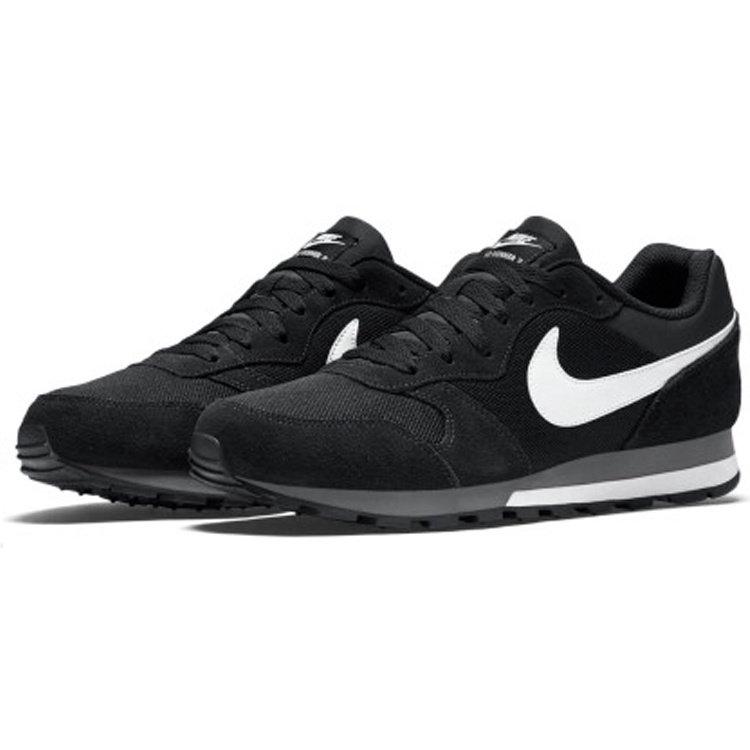 Nike Nike MD Runner 2 Suede Antraciet