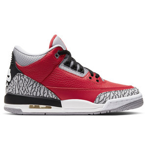 Jordan Nike Air Jordan Retro 3 GS Chicago All-Star 'Red Cement'