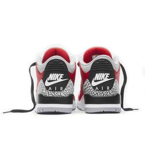 Jordan Nike Air Jordan Retro 3 GS Chicago All-Star 'Red Cement'