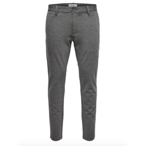 Only & Sons Only & Sons Pantalon Gestreept  Grijs