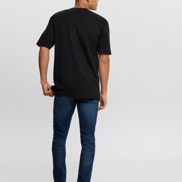 Only & Sons Only & Sons Basic Tee Black