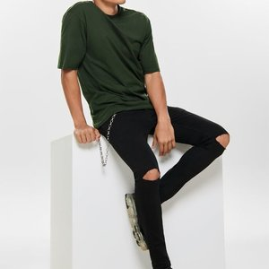 Only & Sons Only & Sons Basic Tee Donkergroen