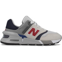 New Balance MS 997 D Sneaker Wit Grijs Donkerblauw Rood