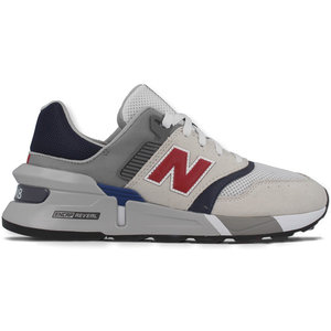 New Balance New Balance MS 997 D Sneaker Wit Grijs Donkerblauw Rood