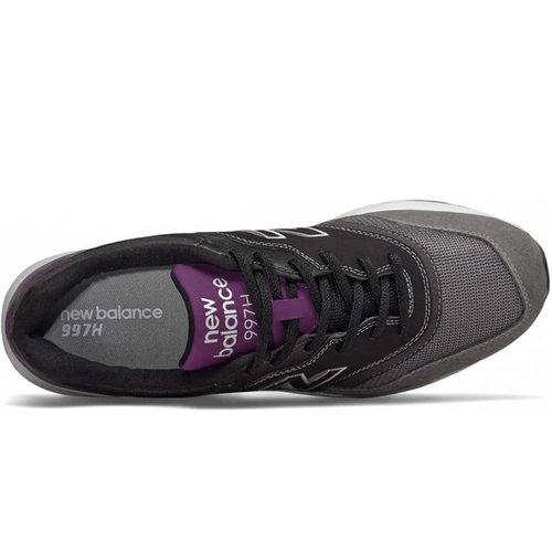 New Balance New Balance CM 997H Sneaker Zwart Grijs Paars