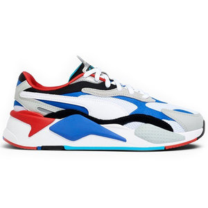 Puma Puma RS-X³ (GS) Puzzle White Blue Red