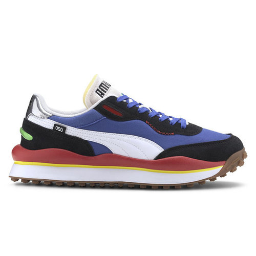 Puma Puma Style Rider 020 Play On Blauw Rood