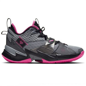 Jordan Basketball Jordan Why Not Zer0.3 Grey Pink