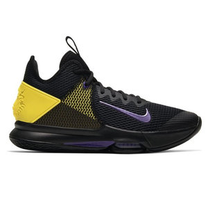 Nike Basketball Nike Lebron Witness IV Schwarz Lila