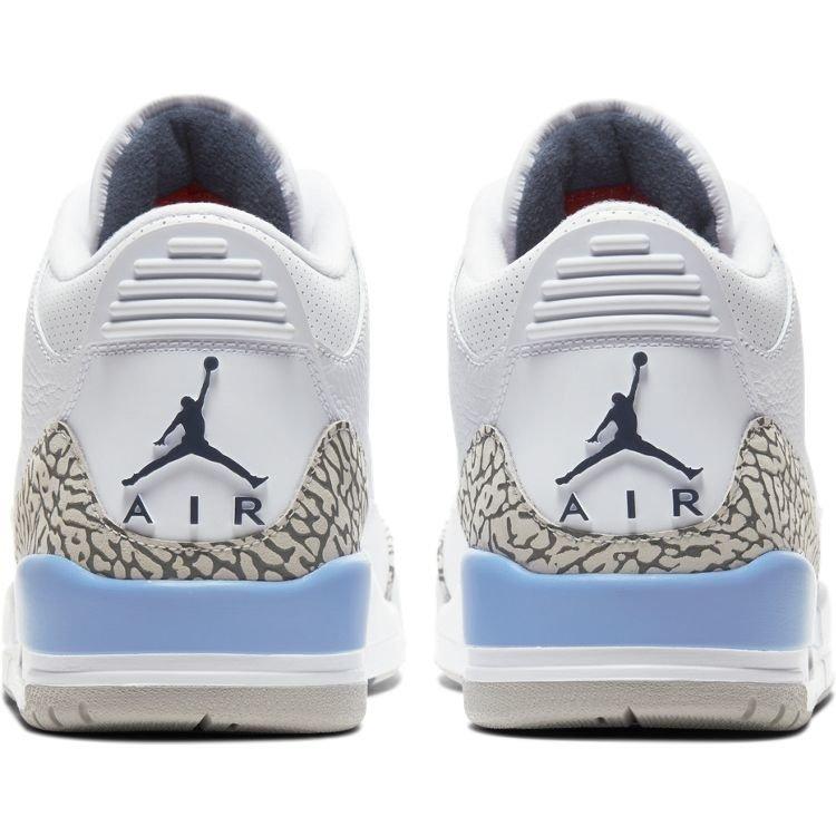 """Jordan Air Jordan Retro 3 UNC """" North Carolina"""""""