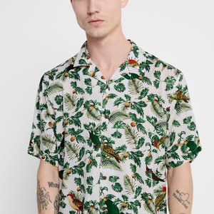 Only & Sons Only & Sons Blouse Onsallan Weiß