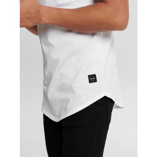 Only & Sons Only & Sons Life Longy Tee Wit