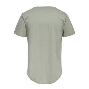 Only & Sons Only & Sons Life Longy Tee Green