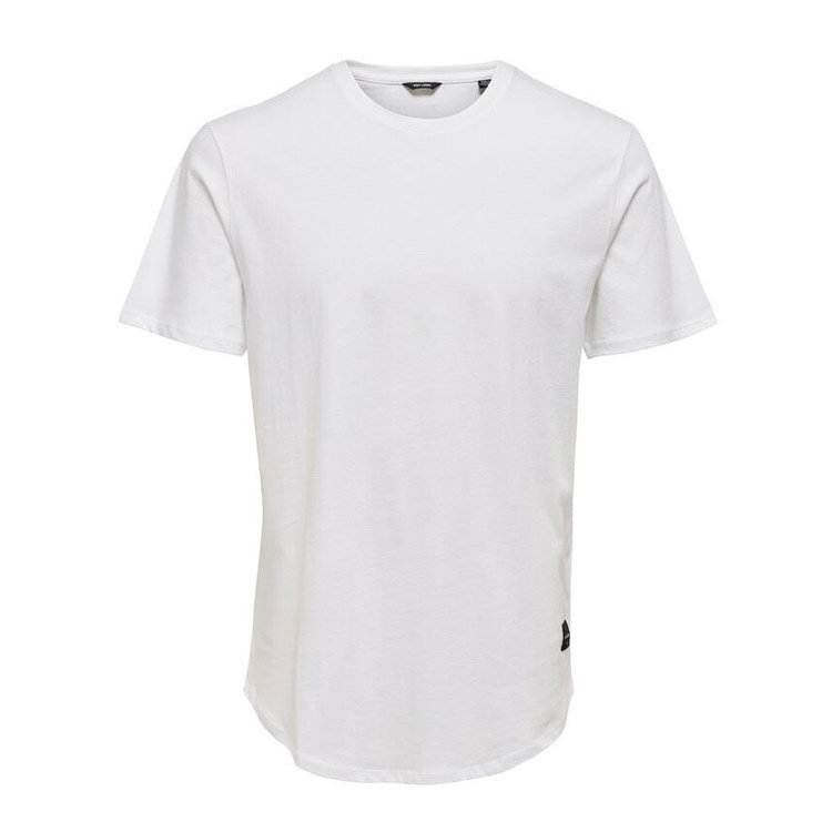 Only & Sons Only & Sons Life Longy Tee White