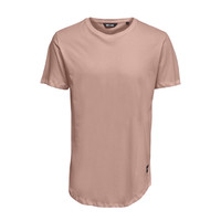 Only & Sons Life Longy Tee Roze