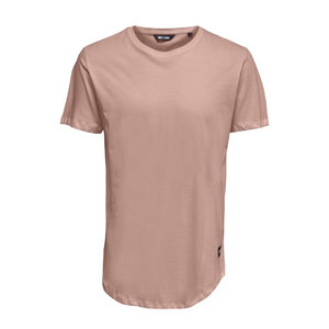 Only & Sons Only & Sons Life Longy Tee Roze