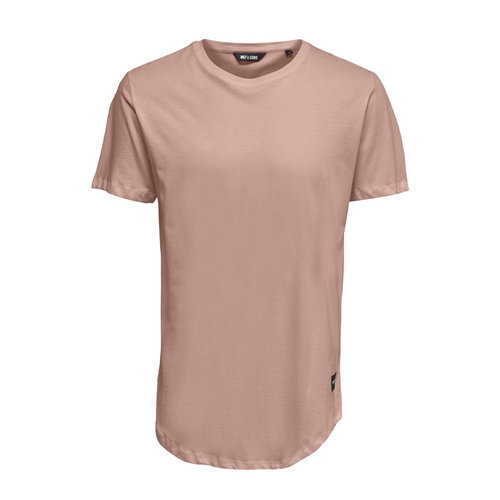 Only & Sons Only & Sons Life Longy Tee Pink