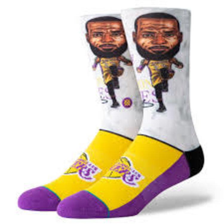 Stance Stance Lebron Big Head Socks