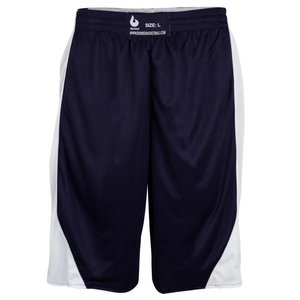 Burned Burned Double Sided Short Dark Blue White