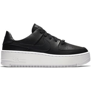 Nike Nike Air Force 1 Sage Low Zwart Wit