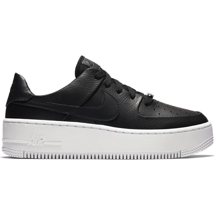 Nike Nike Air Force 1 Sage Low Black White