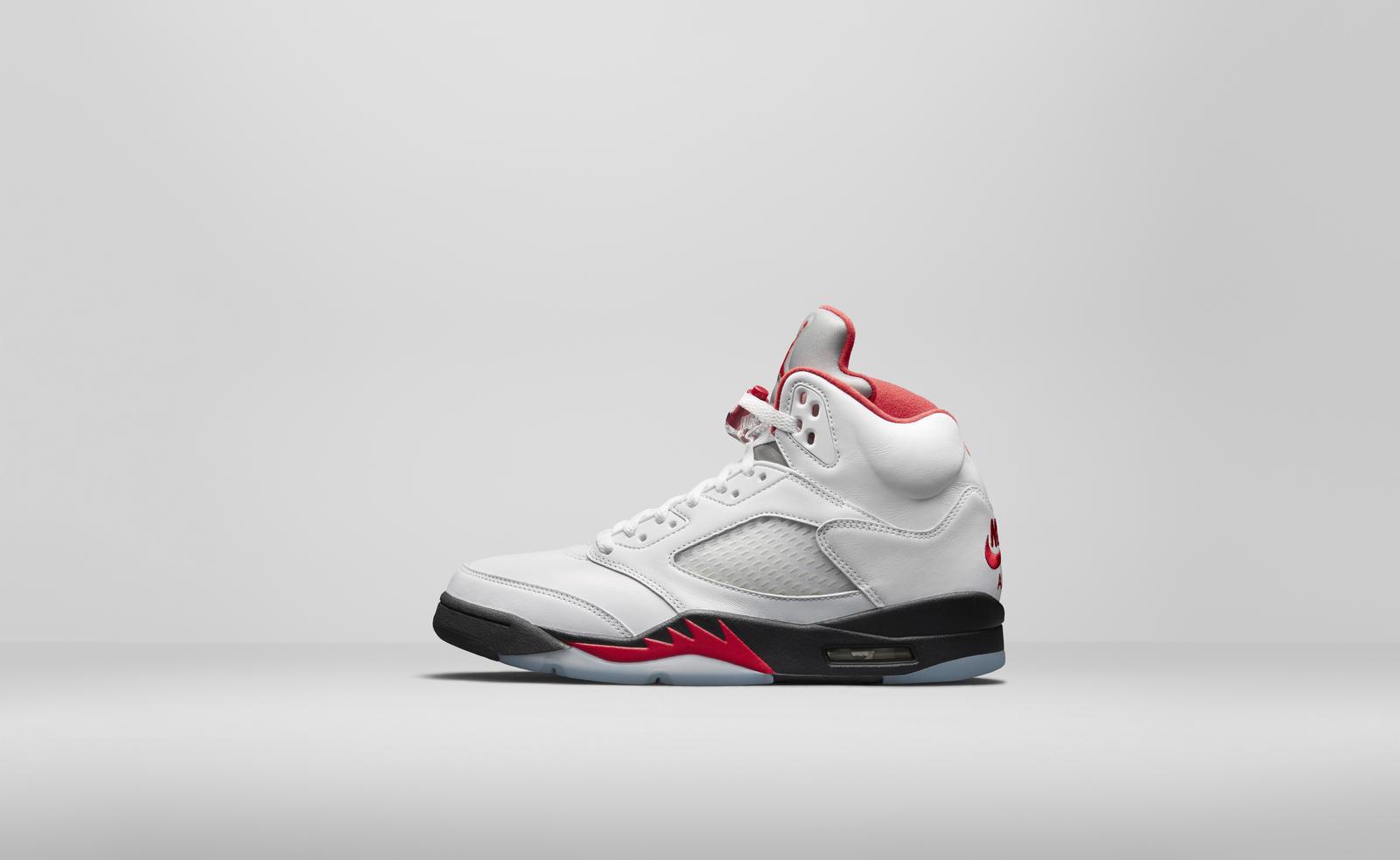 Air Jordan V White Chicago