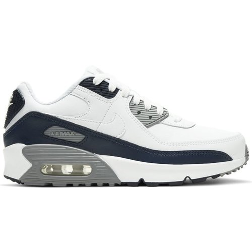 Nike Nike Air Max 90 LTR (GS) White Black Grey