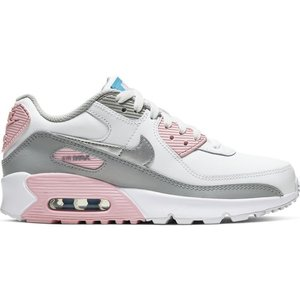 Nike Nike Air Max 90 LTR (GS) White Grey Pink