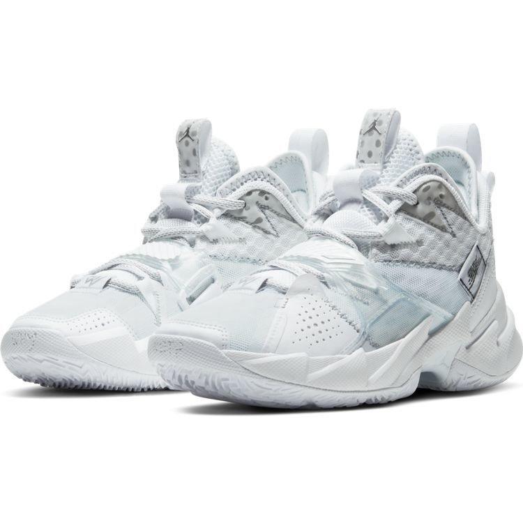 Jordan Basketball Jordan Why Not Zer0.3 (GS) Weiß Silber