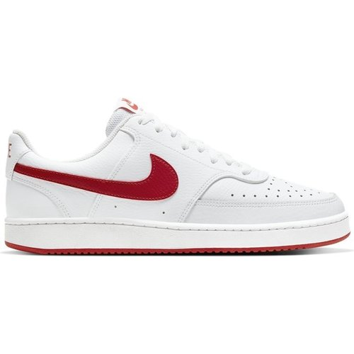 Nike Nikecourt Vision Low Wit Rood