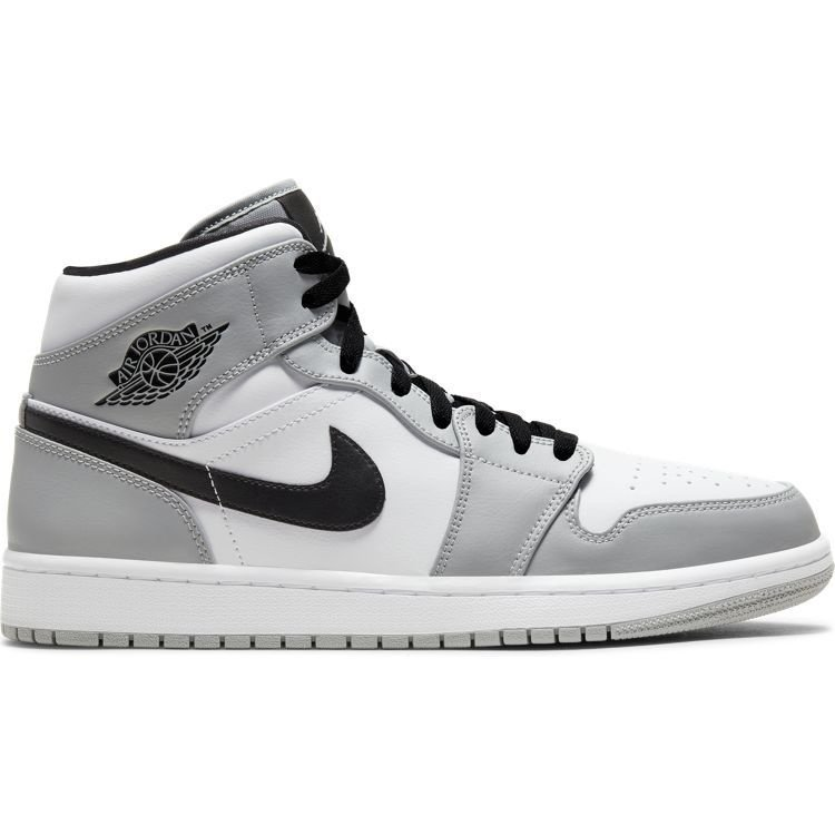Jordan Air Jordan 1 Mid Grey White Black