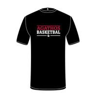 B.C. Agathos T-shirt Zwart Tekst